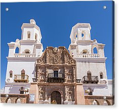 Mission San Xavier - Tucson Arizona Acrylic Print