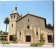 Mission Santa Clara Acrylic Print