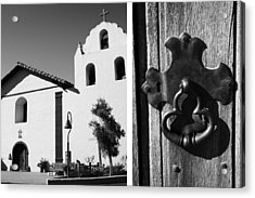 Mission Santa Ines No1 Acrylic Print by Mic DBernardo