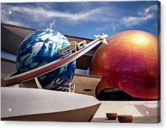 Mission Space Acrylic Print by Eduard Moldoveanu