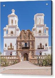 Missiona San Xavier - Tucson Arizona Acrylic Print