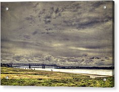 Acrylic Print featuring the photograph Mississipi River by Christopher Meade