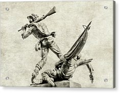 Mississippi Monument At Gettysburg Acrylic Print