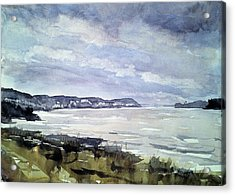 Mississippi River White Cliffs Acrylic Print by Spencer Meagher