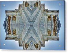 Acrylic Print featuring the photograph Missouri Capitol - Abstract by Nikolyn McDonald