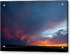 Missouri Sunset Acrylic Print