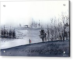 Mist Acrylic Print by Anil Nene