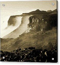 Mist In Lesotho Acrylic Print
