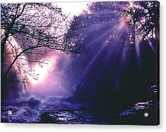 Mist Of Ireland Acrylic Print by Matthew Altenbach