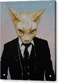 Mister Cat Acrylic Print