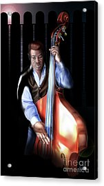 Mister Charles About That Bass Acrylic Print