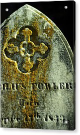 Mister Cyrilius Fowler Acrylic Print by Rebecca Sherman