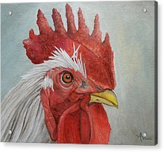 Mister Rooster Acrylic Print