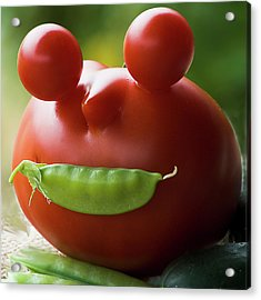 Mister Tomato Acrylic Print