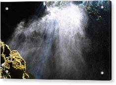 Mistic Falls Acrylic Print by Benjamin Garvey