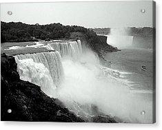 Mistical Niagara Falls Acrylic Print