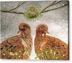 Mistletoe Magic Acrylic Print