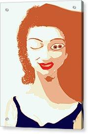 Mistress Of Duality Acrylic Print