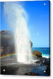 Mists Of Nakalele Acrylic Print