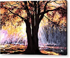 Mists Of Time  Acrylic Print