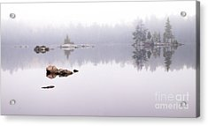 Misty Algonquin Morning Acrylic Print