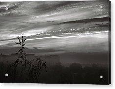 Misty City. Chernihiv, 2016. Acrylic Print