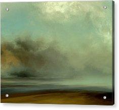 Misty Cove Acrylic Print by Lonnie Christopher