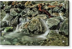 Misty Creek Acrylic Print