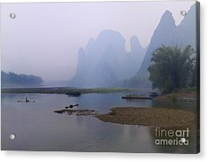 Misty Early Morning Acrylic Print by PuiYuen Ng
