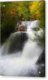 Misty Fall Acrylic Print
