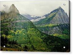 Misty Glacier National Park View Acrylic Print
