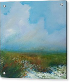 Misty Marsh Acrylic Print by Michele Hollister - for Nancy Asbell