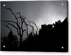 Misty Montserrat Acrylic Print by Jason Hochman