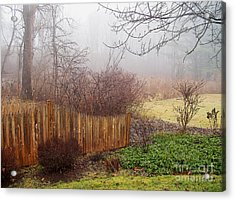 Acrylic Print featuring the photograph Misty Morn by Betsy Zimmerli