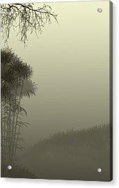 Misty Morn Acrylic Print by Trilby Cole