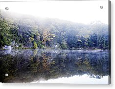 Misty Morning At John Burroughs #2 Acrylic Print