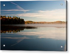 Acrylic Print featuring the photograph Misty Morning by Brent L Ander
