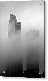 Misty Morning Flight Acrylic Print