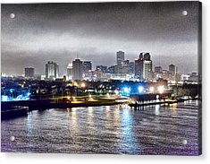 Misty Morning In New Orleans Acrylic Print by Dan Dooley