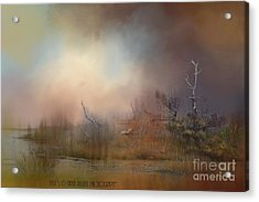 Misty Morning Acrylic Print by Kathy Russell
