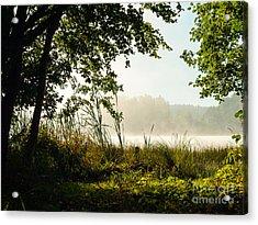 Misty Morning Light Acrylic Print