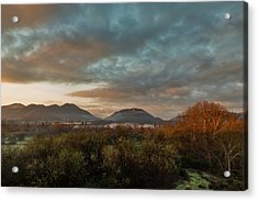 Misty Morning Over The San Diego River Acrylic Print
