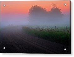 Misty Mornings Acrylic Print