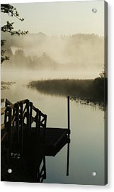 Misty Oregon Morning Acrylic Print