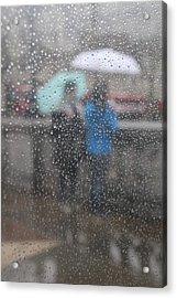 Misty Rain Acrylic Print