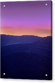 Acrylic Print featuring the photograph Misty Rockies Sunrise by Rod Seel