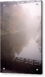Misty Shadows Acrylic Print