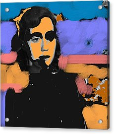 Misty Woman Acrylic Print by Paul Freidin