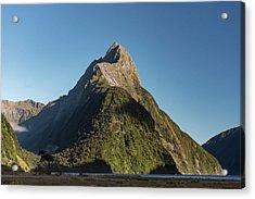 Acrylic Print featuring the photograph Mitre Peak Rahotu by Gary Eason