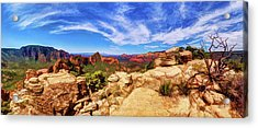 Mitten Ridge Beauty 1 Acrylic Print by ABeautifulSky Photography